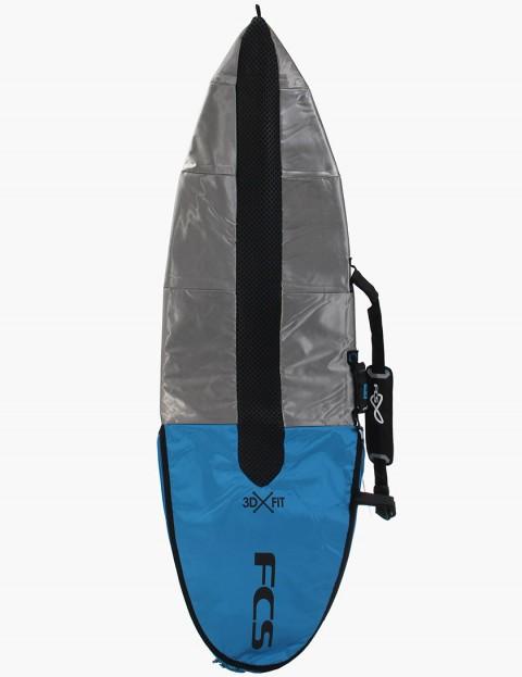 FCS Hybrid 3DxFit Dayrunner 5mm 6ft Surfboard bag - Pro blue
