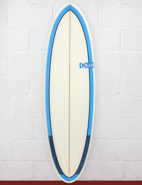 Blue Dot Cat Surfboard 5ft 11 - Blue Rails