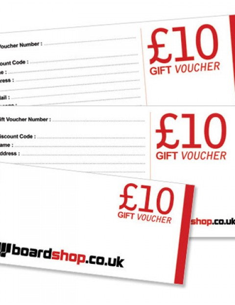 Boardshop BS Gift 10 Ten pound gift voucher