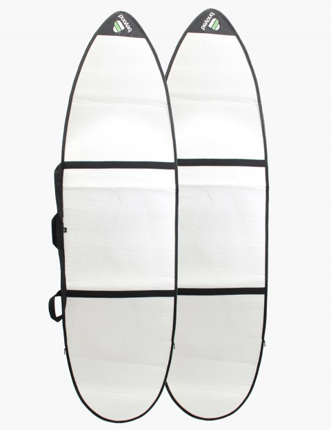 Beyond Funboard Slipper 3mm 7ft 1 Surfboard bag - White
