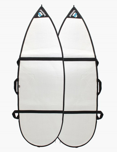 Beyond Shortboard Slipper 3mm Surfboard bag 6ft - White
