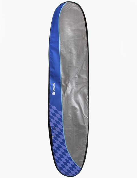 Beyond Longboard Day Tripper 8mm Surfboard bag 8ft 6 - Blue/Purple