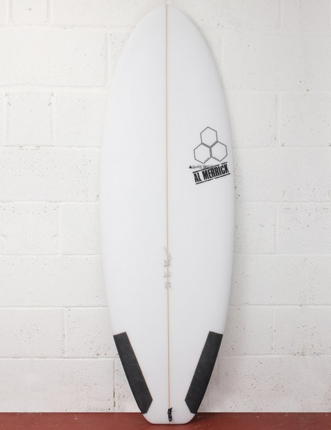 Channel Islands Average Joe Surfboard 5ft 7 Futures - White