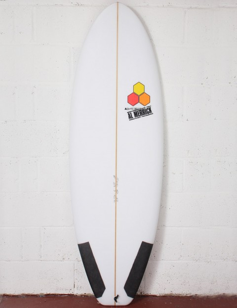 Channel Islands Average Joe Surfboard 6ft 3 FCS II - White