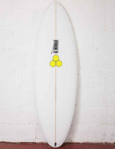 Channel Islands Biscuit Surfboard 5ft 6 FCS II - White