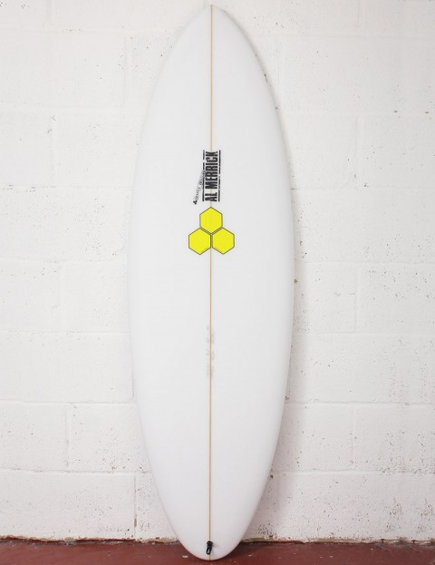 Channel Islands Biscuit Surfboard 6ft 4 FCS II - White