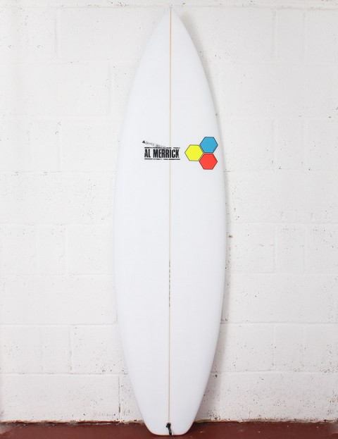 Channel Islands Fred Rubble EPS Epoxy Surfboard 6ft 0 FCS II - White