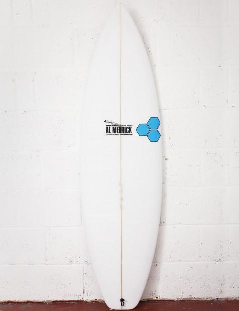 Channel Islands Fred Rubble Surfboard 6ft 0 FCS II - White