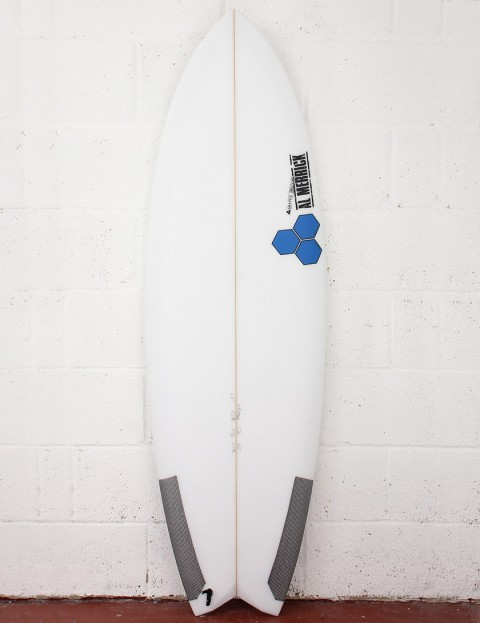 Channel Islands High 5 Surfboard 5ft 10 FCS II - White