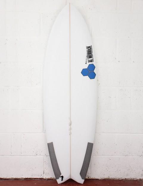 Channel Islands High 5 Surfboard 6ft 2 FCS II - White