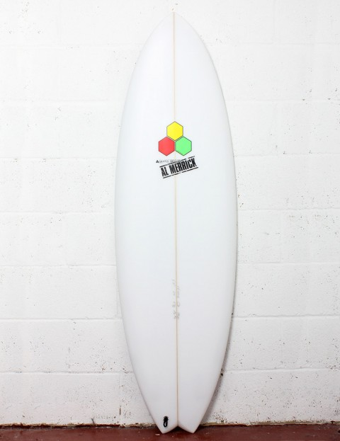 Channel Islands Pod Surfboard 6ft 2 FCS II - White