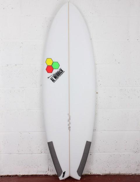 Channel Islands Pod Mod Surfboard 6ft 0 FCS II - White