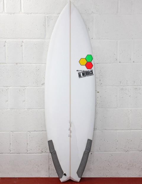 Channel Islands Weirdo Ripper (EPS) Surfboard 5ft 6 - White