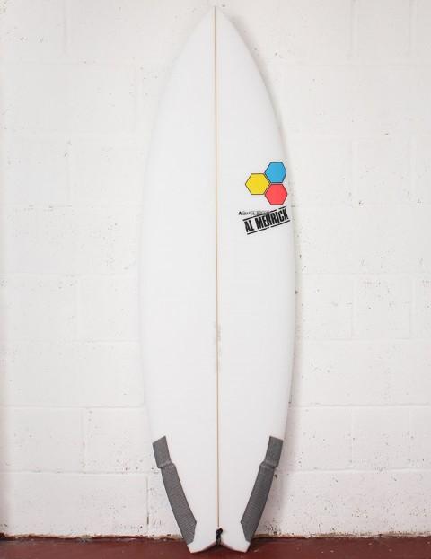 Channel Islands Weirdo Ripper Surfboard 6ft 2 FCS II - White