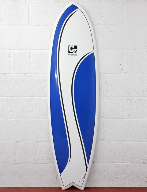 Cortez Surfboards Fish 6ft Surfboard - Blue Swish