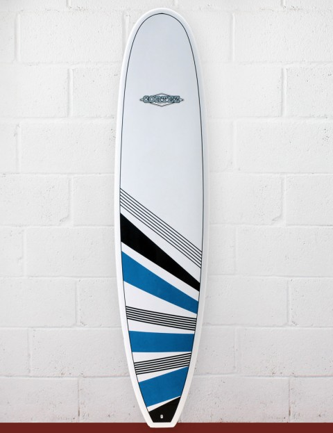 Cortez Surfboards Fun Surfboard 7ft 4 - Blue/Black