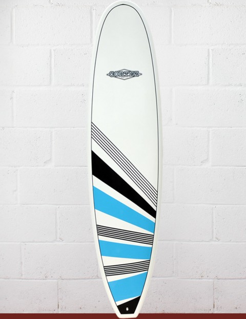 Cortez Surfboards Funboard Surfboard 7ft 6 - Blue/Black