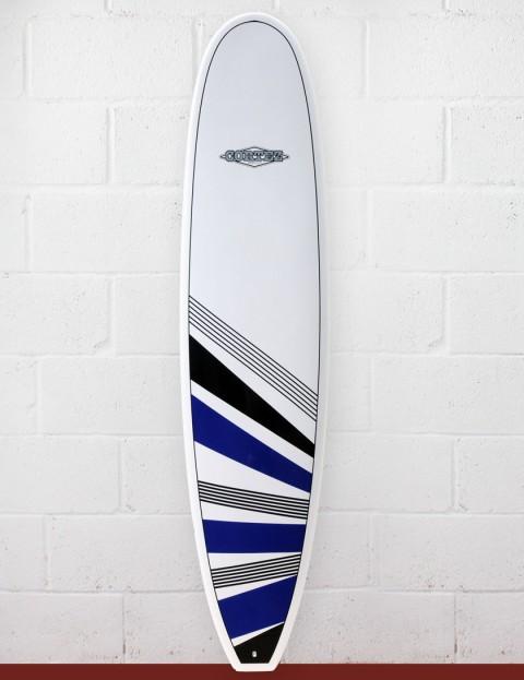 Cortez Surfboards Funboard Surfboard 7ft 6 - Navy/Black