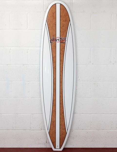 Cortez Surfboards Mal Veneer Surfboard 8ft 6 - Natural Wood