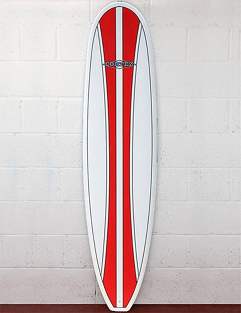 Cortez Surfboards Mal Surfboard 9ft - Red