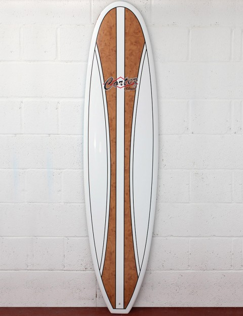 Cortez Surfboards Mal Veneer Surfboard 9ft - Natural Wood