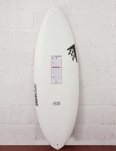 Firewire FST Double Agent Surfboard 5ft 10 Futures - White
