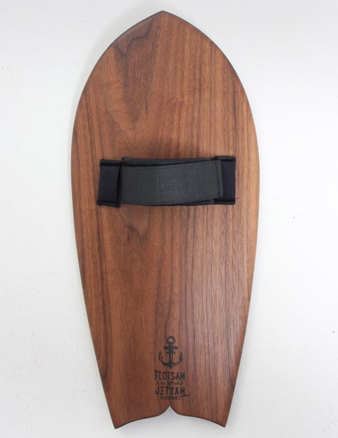 Flotsam and Jetsam Dolphin Tail Handplane - Black Walnut