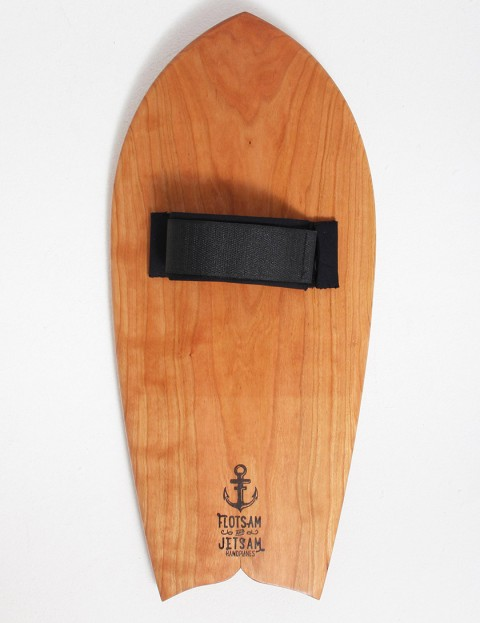 Flotsam and Jetsam Dolphin Tail Handplane - Cherry