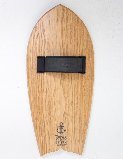 Flotsam and Jetsam Dolphin Tail Handplane - Oak