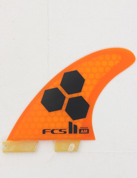 FCS II AM Thruster PC Medium Tri fin set - Orange