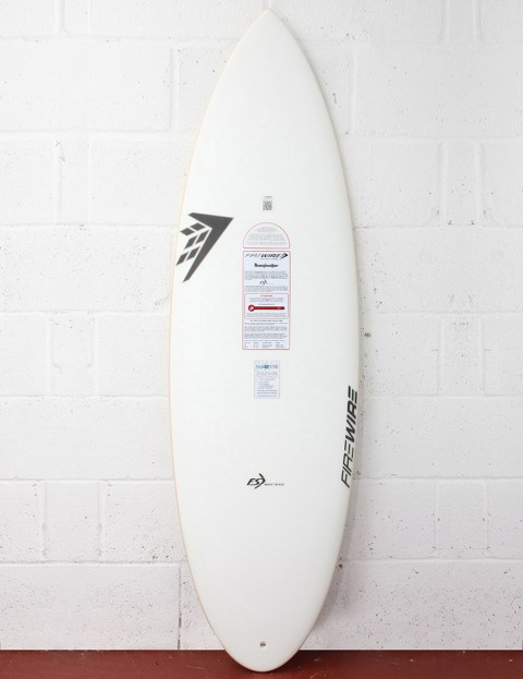 Firewire FST Dominator Surfboard 5ft 7 Futures - White