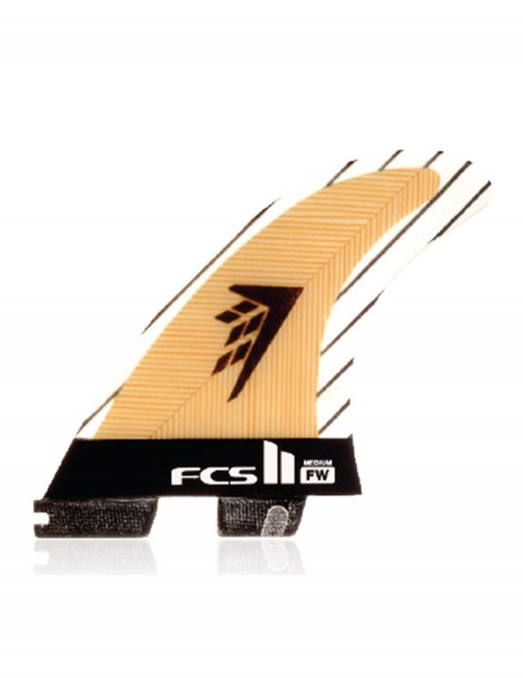 FCS II Firewire PC Carbon Tri fins Medium - Natural Wood