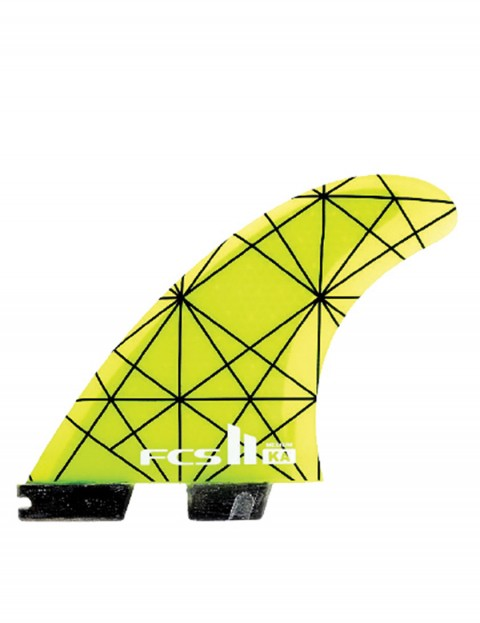 FCS II Kolohe Andino KA PC Thruster Medium Tri Fin Set - Multi Colour