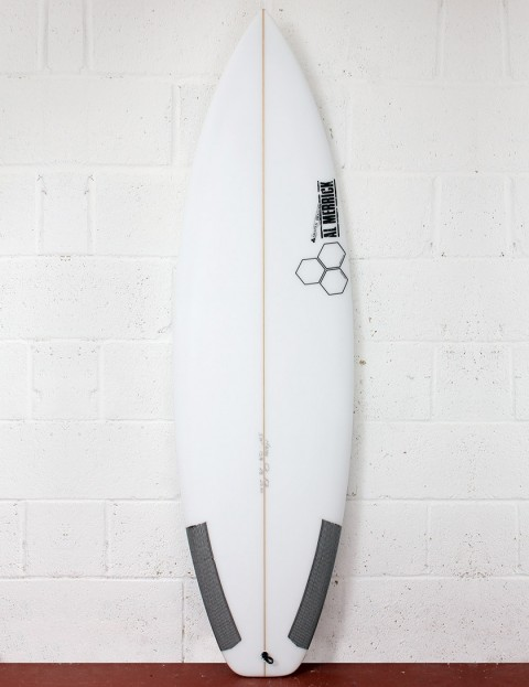 Channel Islands Fred Stubble FCS 2 Surfboard 5ft 7 FCS II - White