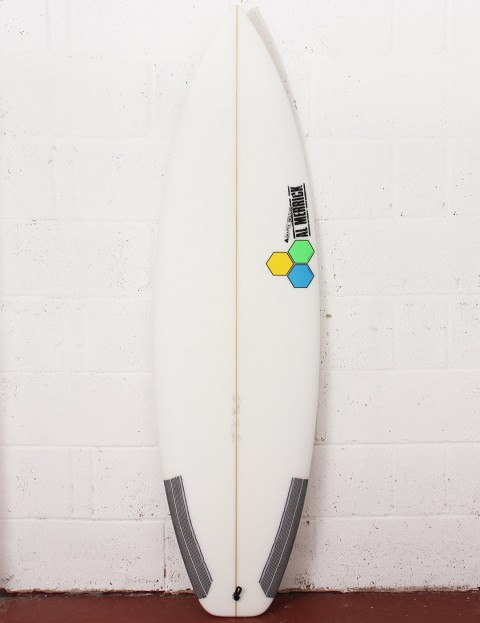 Channel Islands Fred Stubble Surfboard 5ft 10 Futures - White
