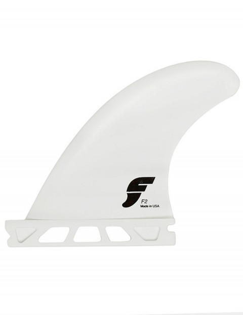 Future Fins F2 Quad + 3.75 Rear Thermotech (X-Small) Five fin set - White
