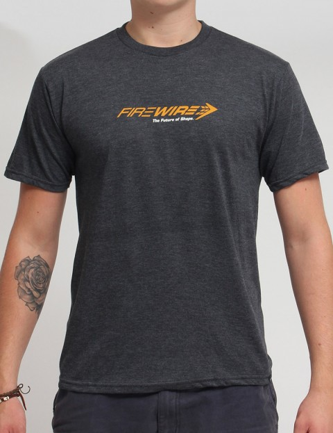 Firewire Future Of Shape T shirt - Charcoal Heather