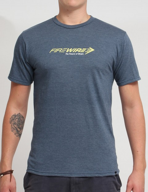 Firewire Future Of Shape T shirt - Navy Heather