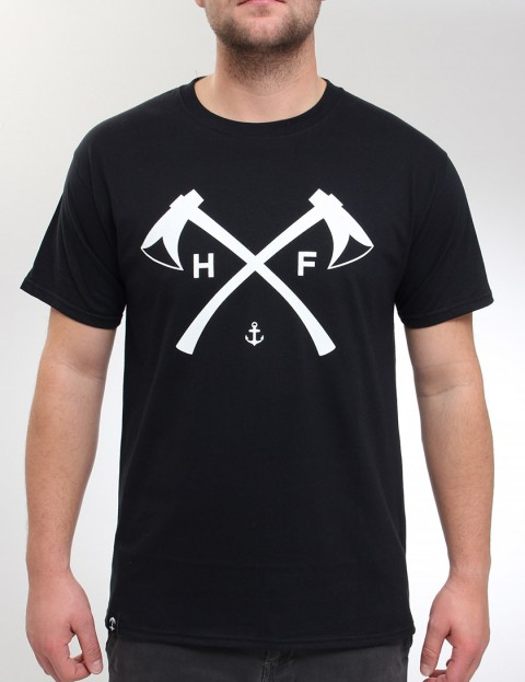 Hold Fast Axes T Shirt - Black