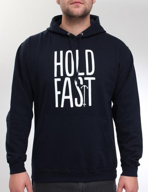 Hold Fast Logo Hoody - Navy