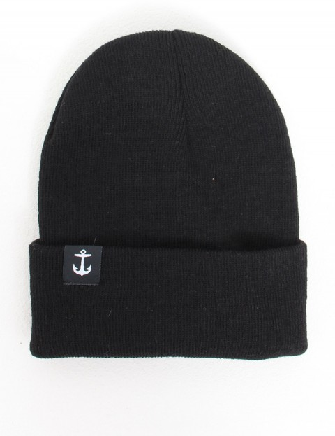 Hold Fast Pinch Cuff beanie - Black