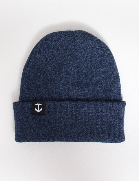 Hold Fast Pinch Cuff beanie - Atlantic Blue