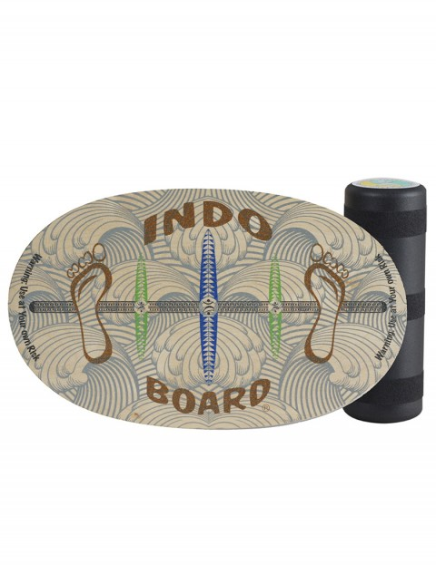 Indo Board Original Barefoot Balance trainer - Multi Colour