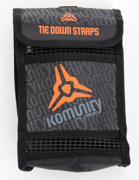 Komunity Project Tie Down Straps two pack 4.8 - Black