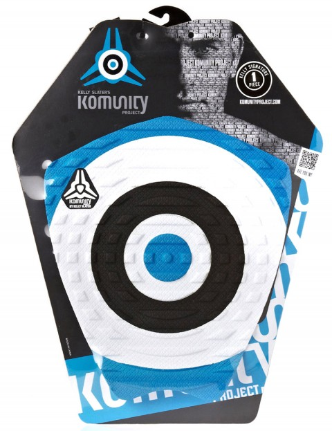 Komunity Project Bullseye Kelly Slater Tail pad - Blue