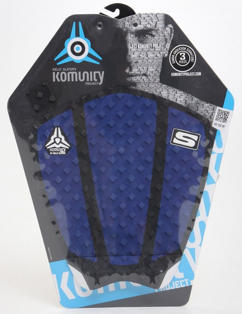 Komunity Project Simon Anderson 3 Piece Tail pad - Blue
