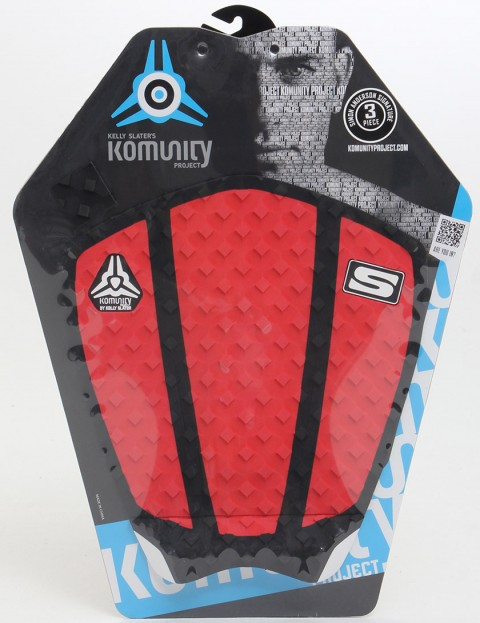 Komunity Project Simon Anderson 3 Piece Tail pad - Red