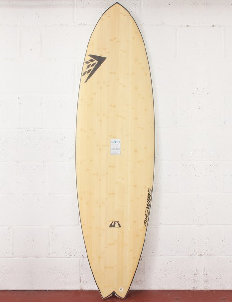 Firewire LFT Addvance Surfboard 6ft 6 Futures - Natural Wood