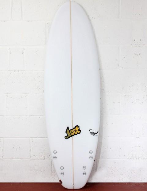 Lost Surfboards Lazy Boy Surfboard 5ft 6 FCS II - White
