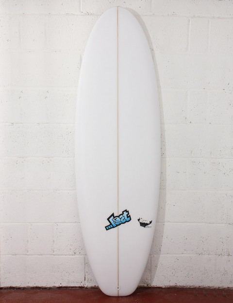 Lost Surfboards Lazy Boy Surfboard 5ft 8 FCS II - White